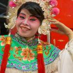 Lao Sai Tao Yuan Opera troupe performer