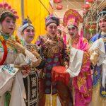 Lao Sai Tao Yuan Opera troupe performers