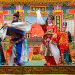 Lao Sai Tao Yuan Opera troupe performance.