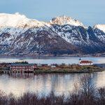 Austnes Fjord in Lofoten