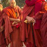 Senior Burmese Monks.