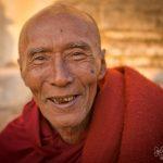 Senior monk, Bagan