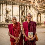 Monk at the Ananda Temple, Bagan