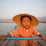 Fisherman's son on Lake Inle