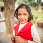 School girl in Bandipur