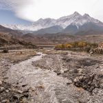 Panoramic view of Jomsom