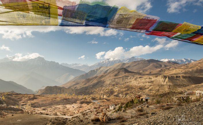 Prayer Flags in Muktinath