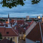 Blue hour, Tallinn Old Town