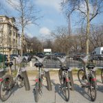 Rental bicycles in Paris
