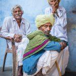 Trio of Rabari men in Rawla Jojawar