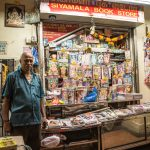 Indian magazine store owner, Little India