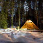 Lavu tent at the Aurora Safari Camp