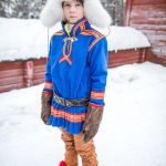Sami Teenager, Jokkmokk