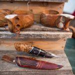 Local crafts at the Jokkmokk Winter  Market