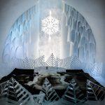 Room in the Ice Hotel in Kiruna