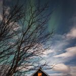 Faint sightings of the Aurora Borealis in Abisko, Swedish Lapland