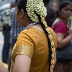 Jasmine flowers for the headpiece