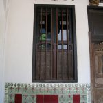 Emerald HIll Shophouse window and art deco style tiles