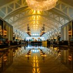 Fullerton Bay Hotel lobby