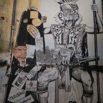 Street art mural, Hin Bus Depot, Georgetown