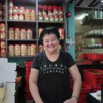 At the famous Peranakan bak chang (dumplings) and Nyonya cakes shop, Kim Choo, at Joo Chiat, Singapore.