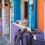 Colourful Burano, Venice.