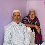 Two silver-haired gentleman in Ramgarh