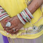 More hannaed hands with lovely bangles