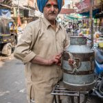 Milk wallah, Udaipur