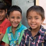Young friends in Ramgarh