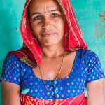 Portrait of Rajasthani woman