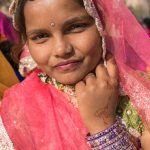 Bikaner beauty wearing Rajasthani bangles