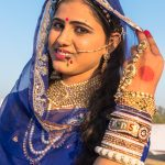 A true Bikaner beauty; another of the Ms Mandwa contestants