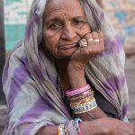 Glum-looking woman, Jodhpur