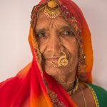 Woman with nose ring from Rawla Jojawar