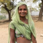 Nurse in a village outside Udaipur
