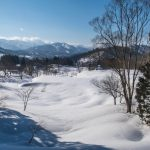 The snow-covered fields of Iide
