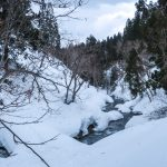 Ginzan Onsen walk to a silver mine