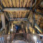 An icy descent into an old silver mine near Ginzan Onsen