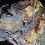 Inside an old silver mine, near Ginzan Onsen