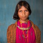 Young lady from the Dongaria Kondh tribe with modern clothing