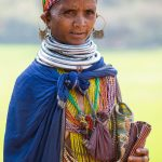 Woman from the Bonda tribe