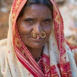Woman from the Paraja tribe at the Kunduli market