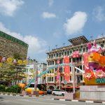 Chinatown, Singapore. Chinese new Year 2020