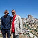 Ahmet  and Nejat, Pigeon Valley, Cappadocia