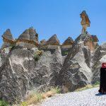 Turkish woman, Pasabag Valley, Cappadocia