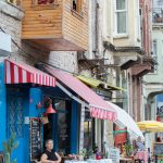 Woman at Cafe, Fener, Istanbul