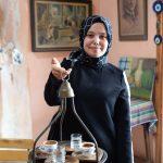 Turkish coffee lady, Istanbul