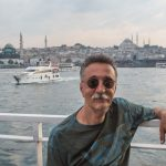 Man on Bosphorus ferry, Istanbul
