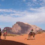 Camel herders, Wadi Rum